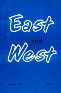East and West 1956 Spring Cover